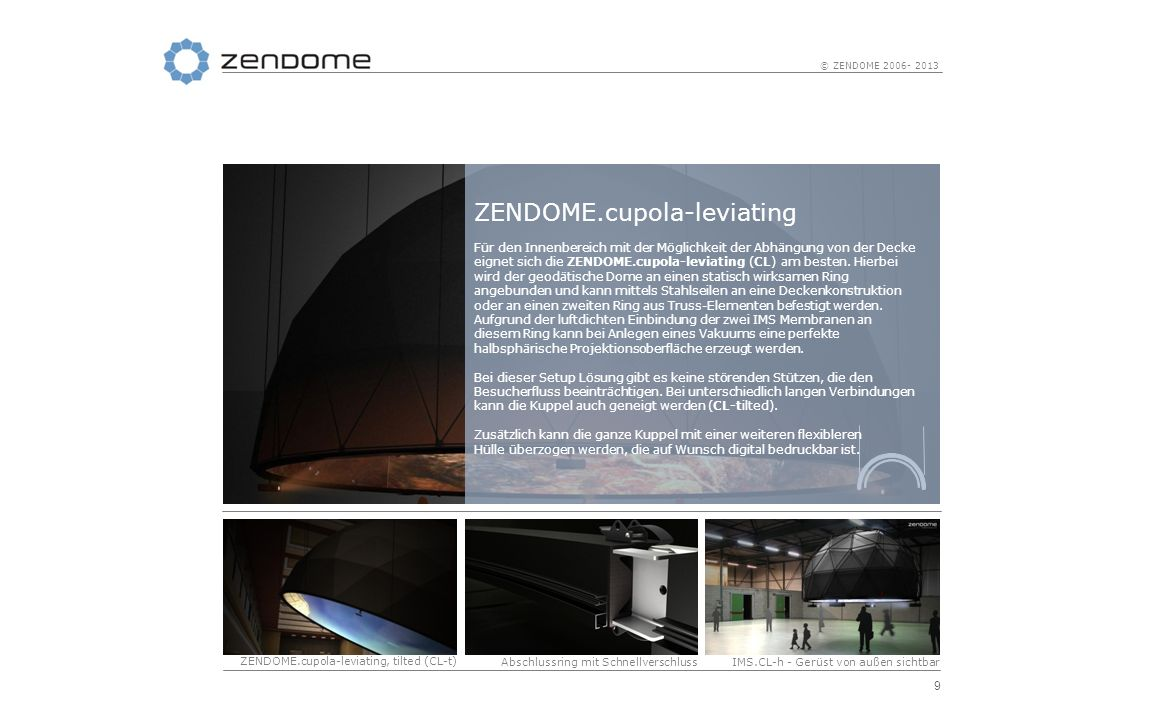 ZENDOME.cupola-leviating