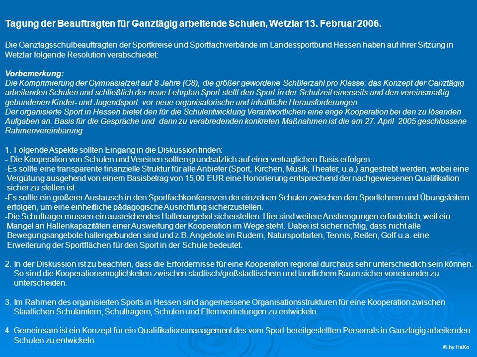 Tagung der Beauftragten für Ganztägig arbeitende Schulen, Wetzlar 13