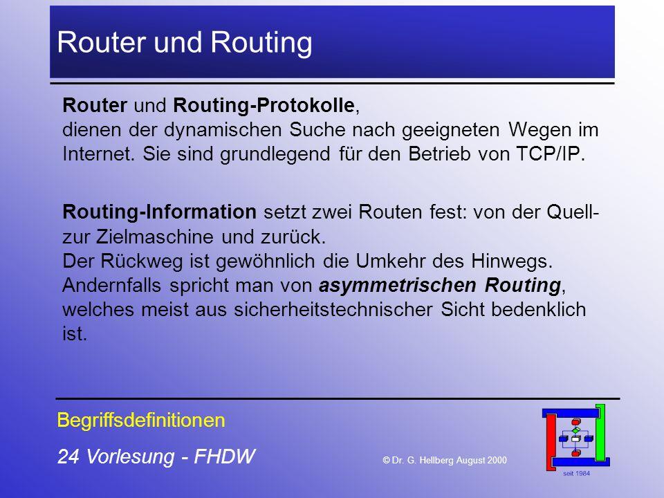 Router und Routing