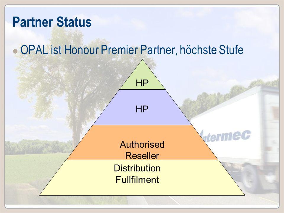 Partner Status OPAL ist Honour Premier Partner, höchste Stufe HPP HP
