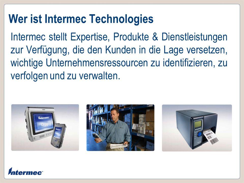 Wer ist Intermec Technologies
