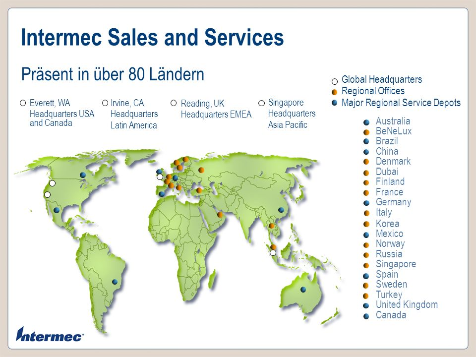 Intermec Sales and Services