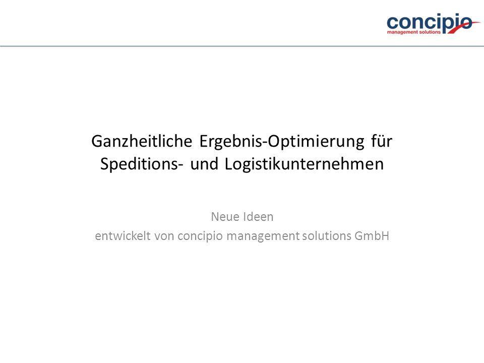 Neue Ideen entwickelt von concipio management solutions GmbH