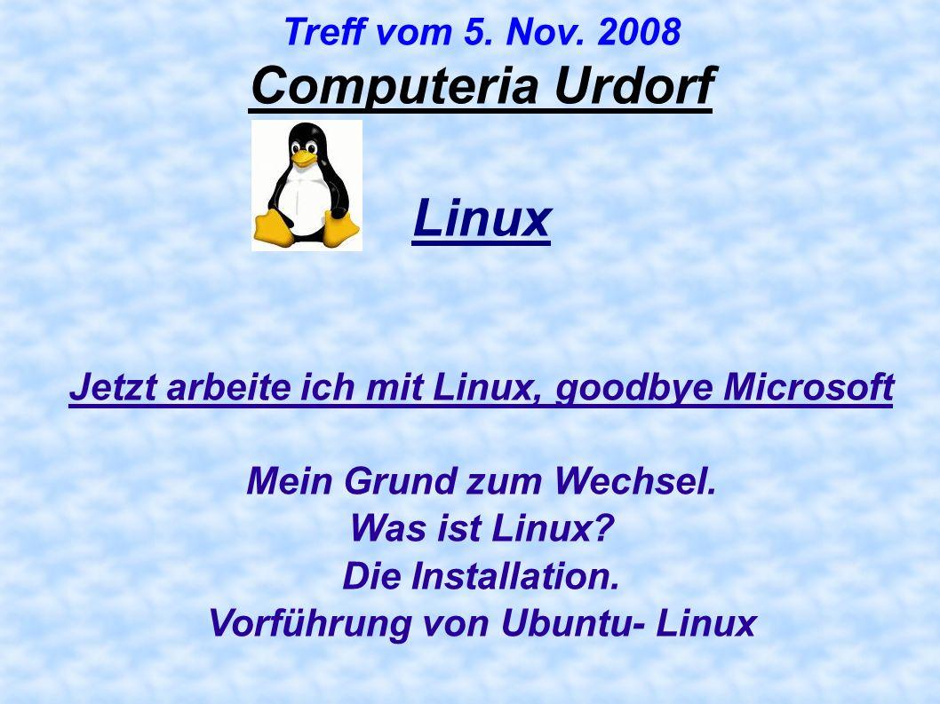 Linux Computeria Urdorf