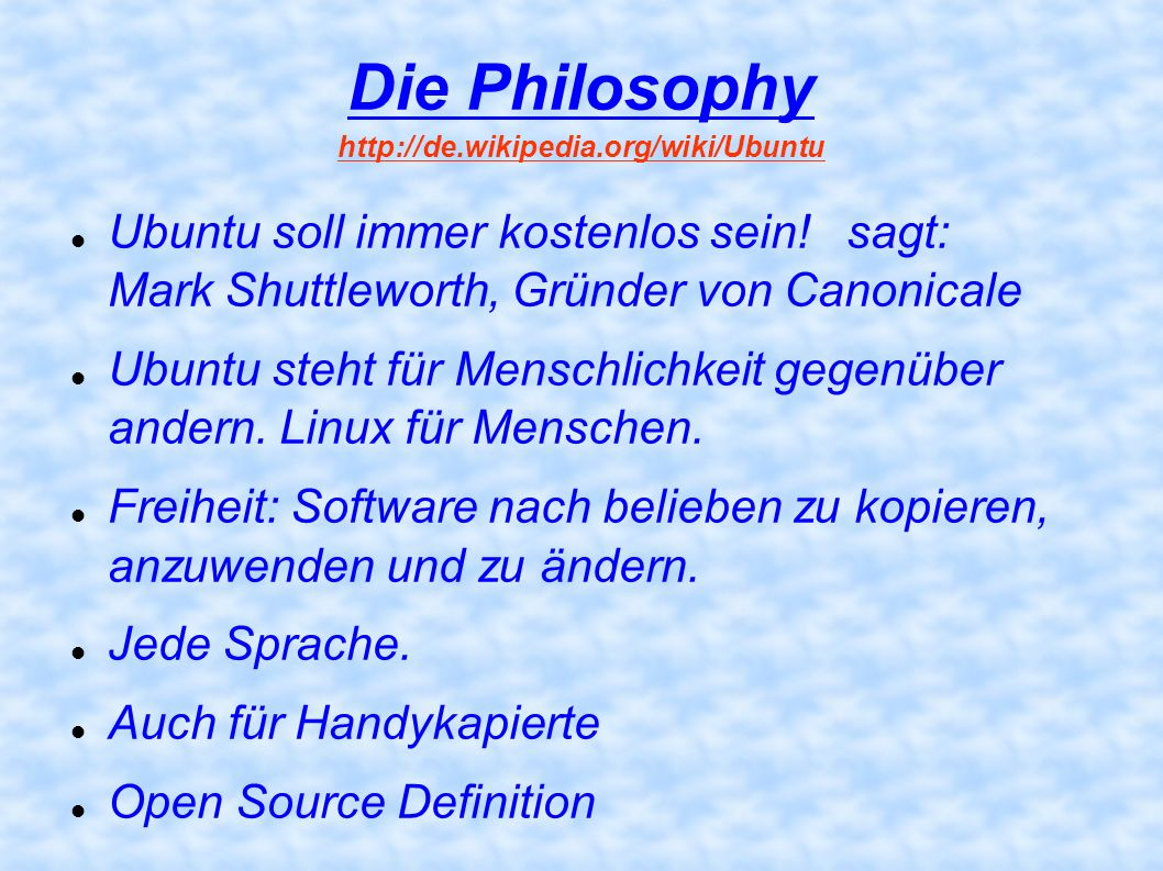 Die Philosophy