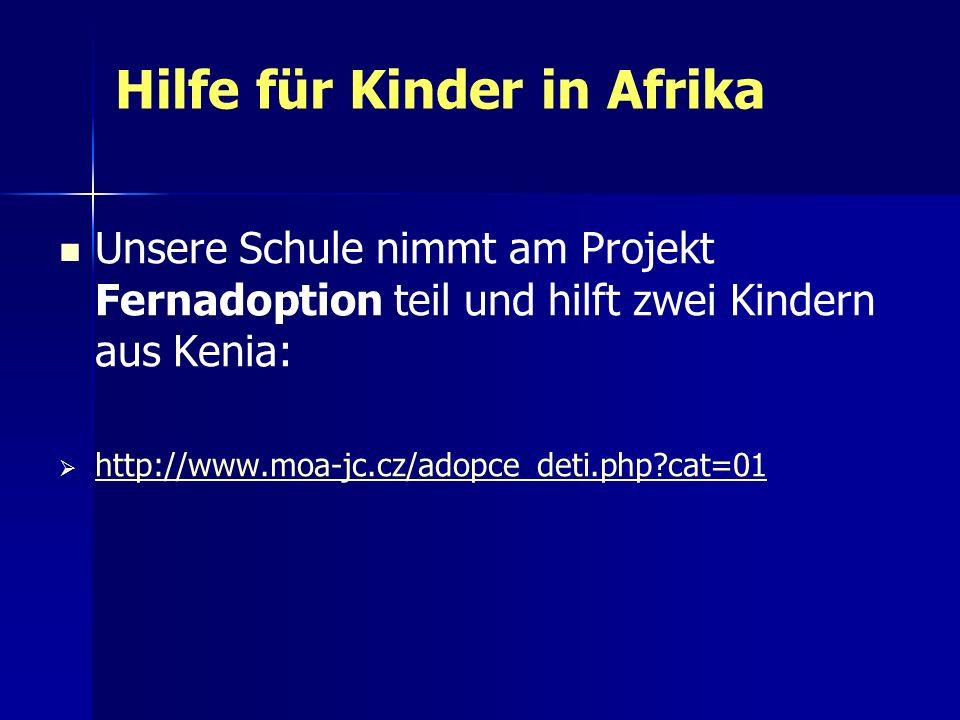 Hilfe für Kinder in Afrika
