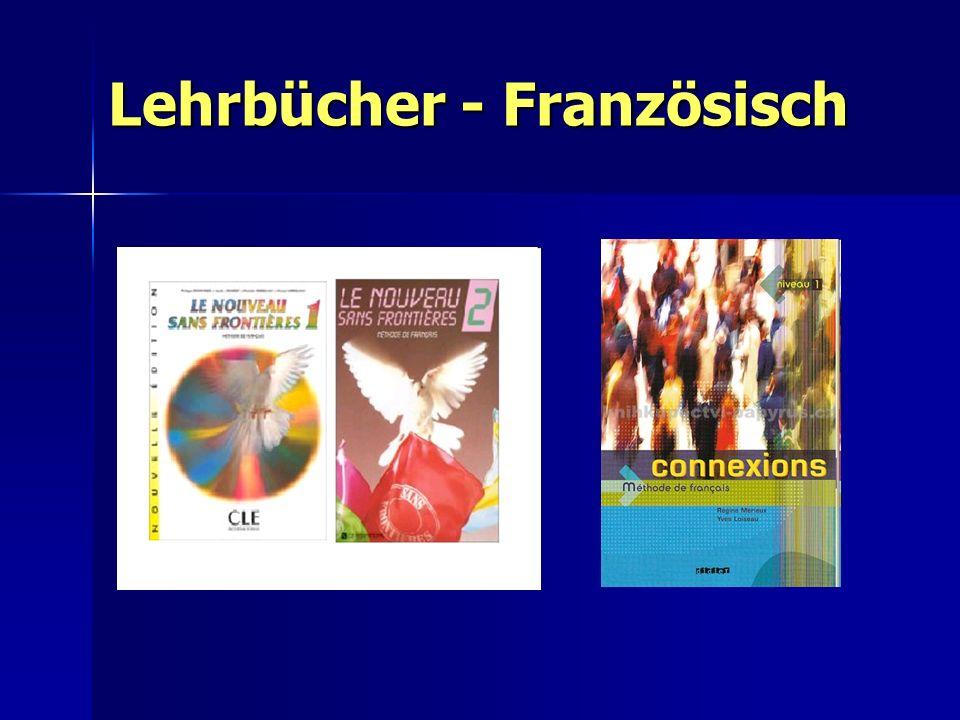 Lehrbücher - Französisch