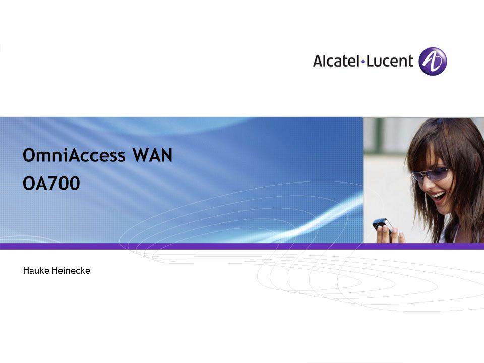 OmniAccess WAN OA700 Hauke Heinecke