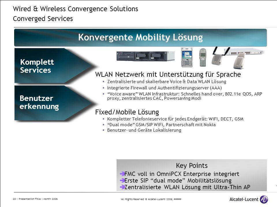 Konvergente Mobility Lösung