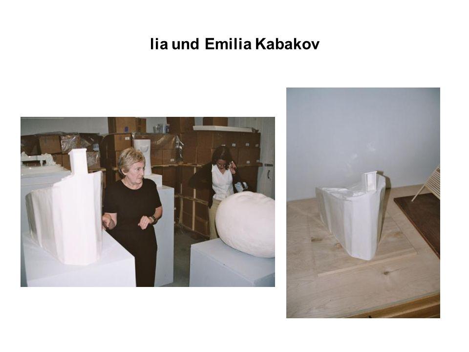 lia und Emilia Kabakov