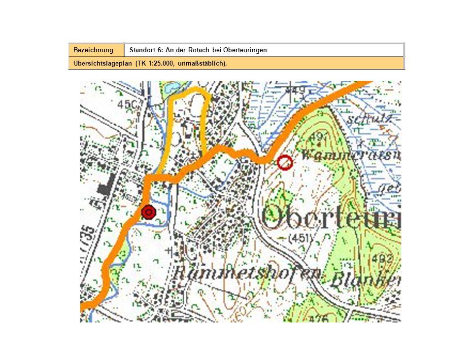 Bezeichnung Standort 6: An der Rotach bei Oberteuringen.