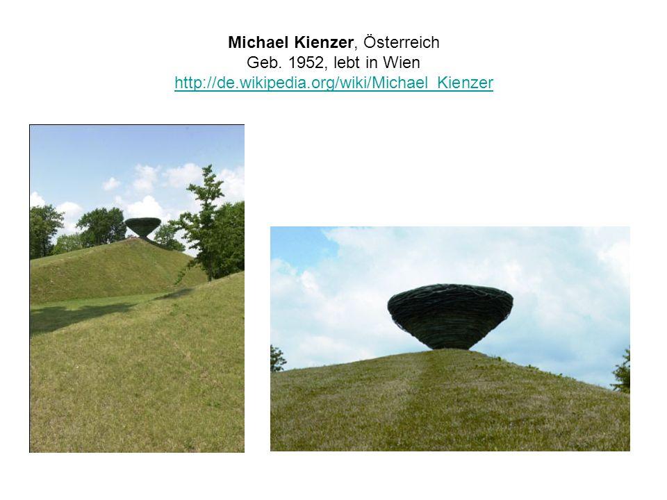 Michael Kienzer, Österreich Geb. 1952, lebt in Wien http://de