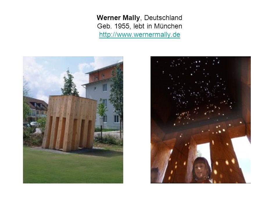 Werner Mally, Deutschland Geb. 1955, lebt in München http://www