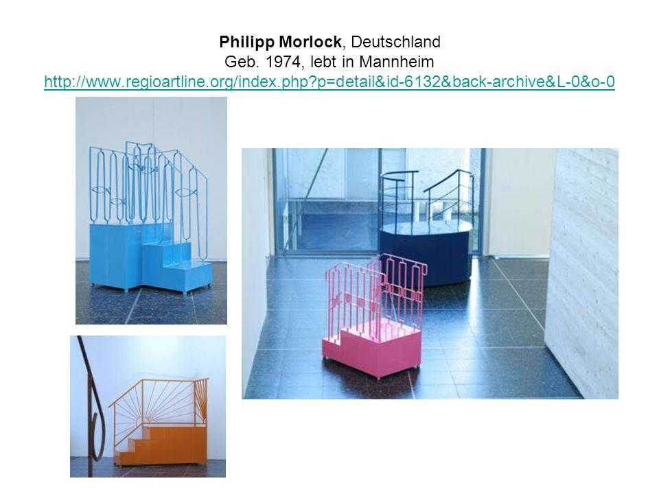 Philipp Morlock, Deutschland Geb. 1974, lebt in Mannheim http://www