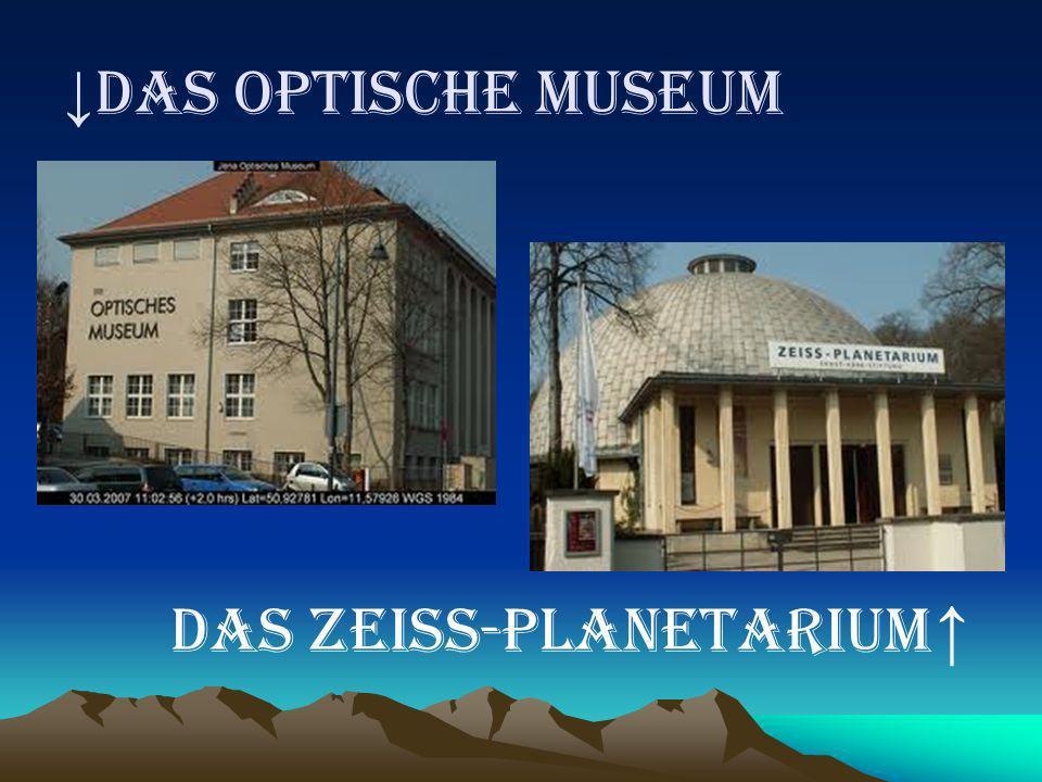 ↓DAS OPTISCHE MUSEUM DAS ZEISS-PLANETARIUM ↑