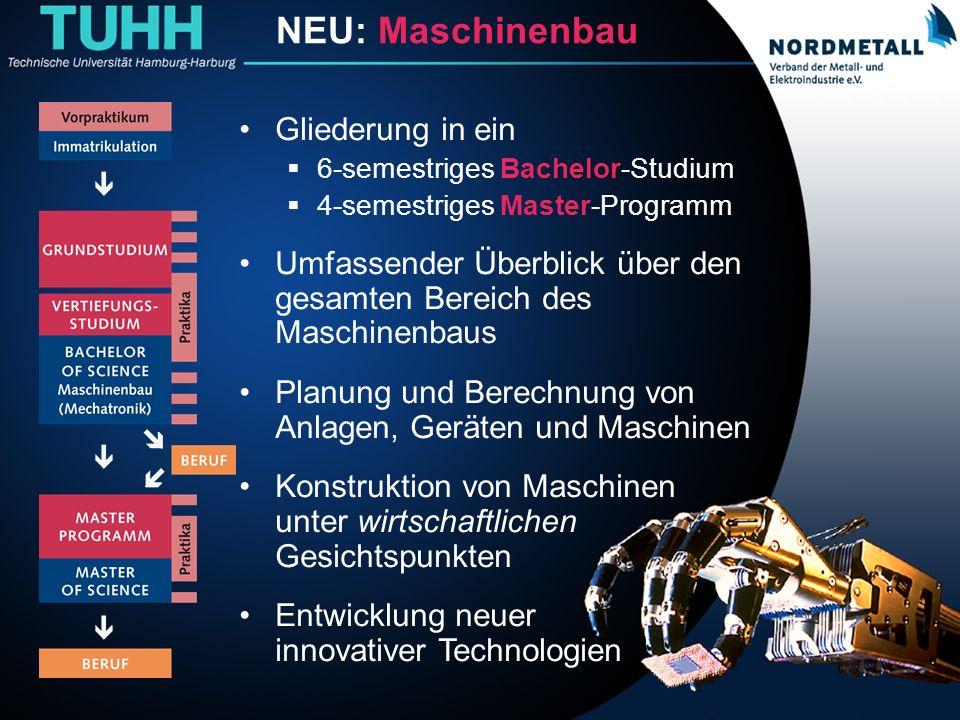 Studiengang: Maschinenbau/Mechatronik (MB)