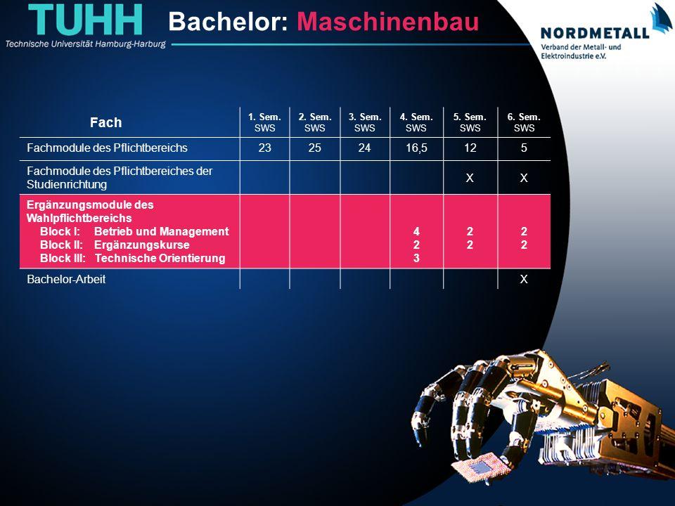 Bachelor: Maschinenbau/Mechatronik (17)
