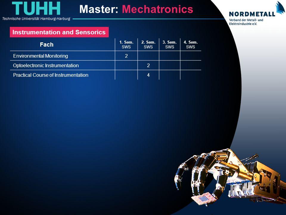 Master: Maschinenbau/Mechatronik (13)