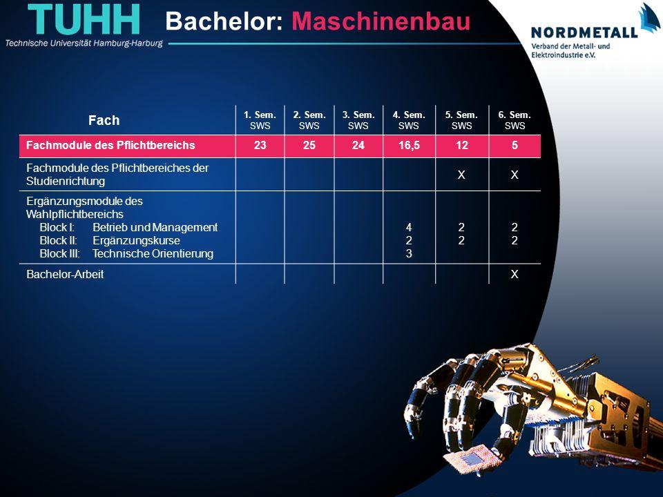 Bachelor: Maschinenbau/Mechatronik (2)