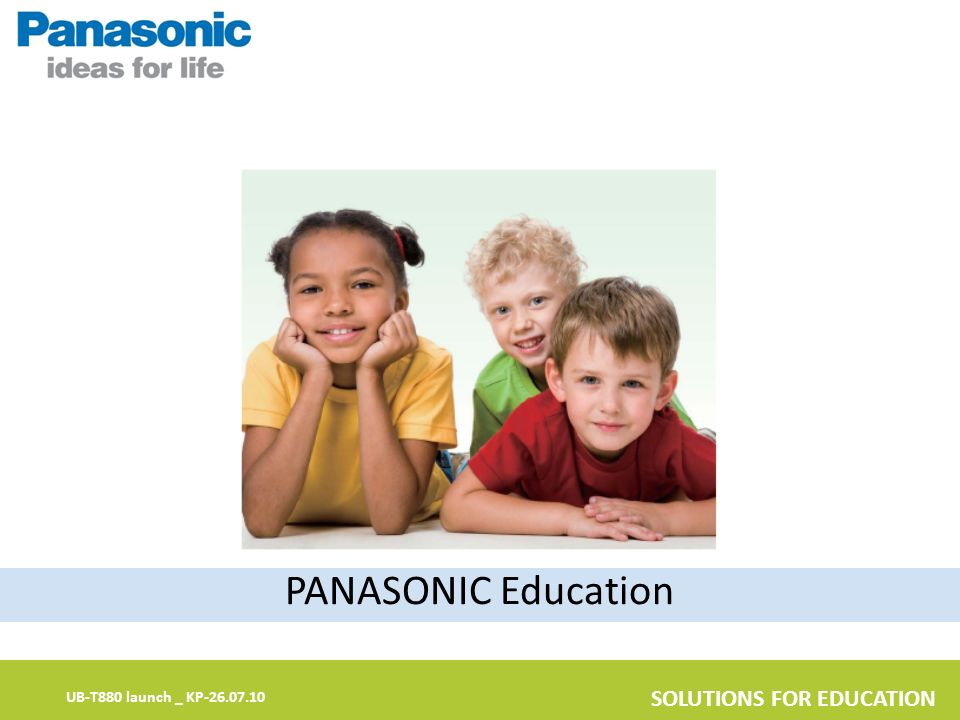 PANASONIC Education
