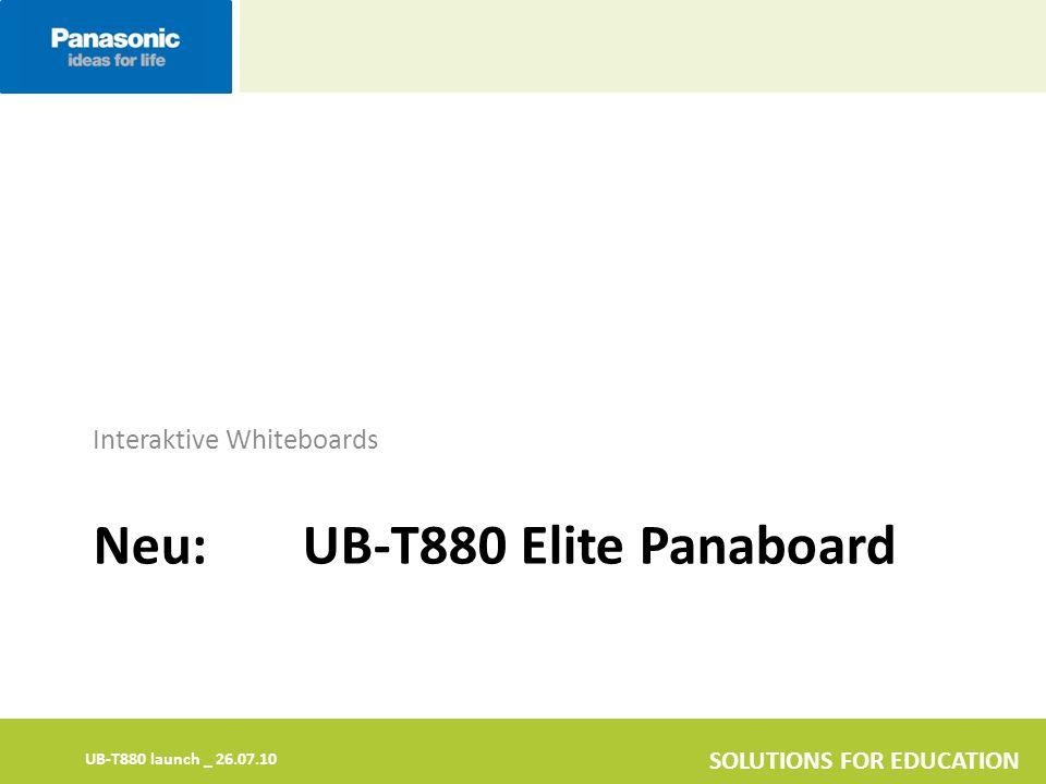 Neu: UB-T880 Elite Panaboard