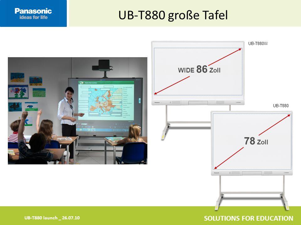 UB-T880 große Tafel UB-T880W WIDE 86 Zoll UB-T880 78 Zoll