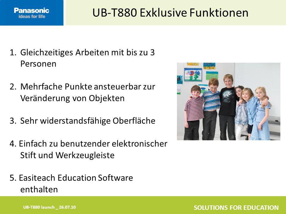 UB-T880 Exklusive Funktionen