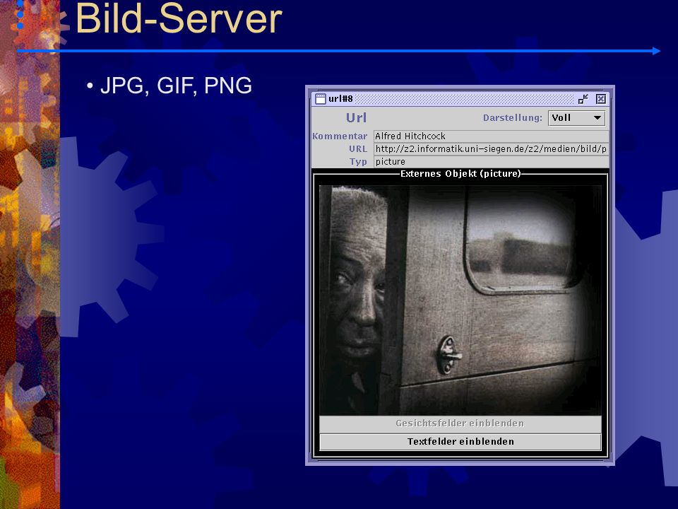 Bild-Server JPG, GIF, PNG