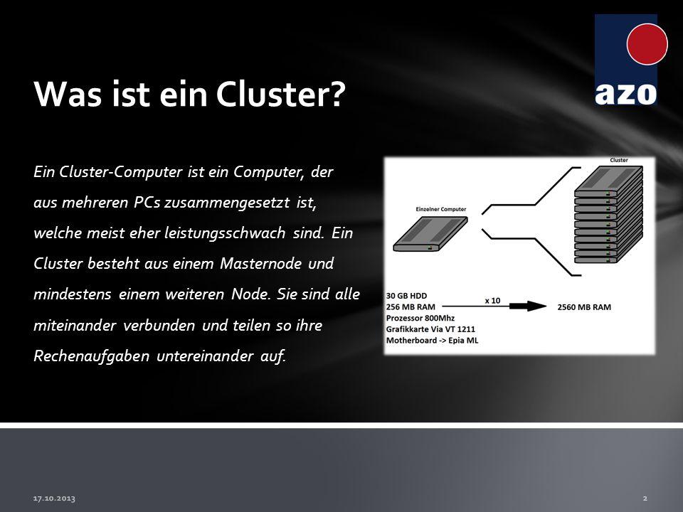 Was ist ein Cluster