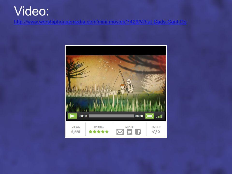 Video: http://www. worshiphousemedia