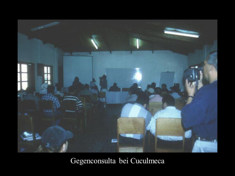 Gegenconsulta bei Cuculmeca