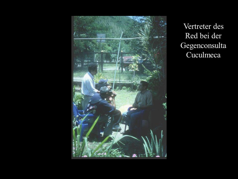Vertreter des Red bei der Gegenconsulta Cuculmeca