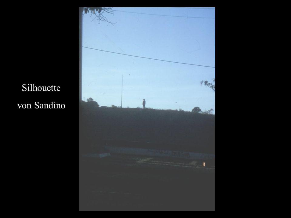 Silhouette von Sandino