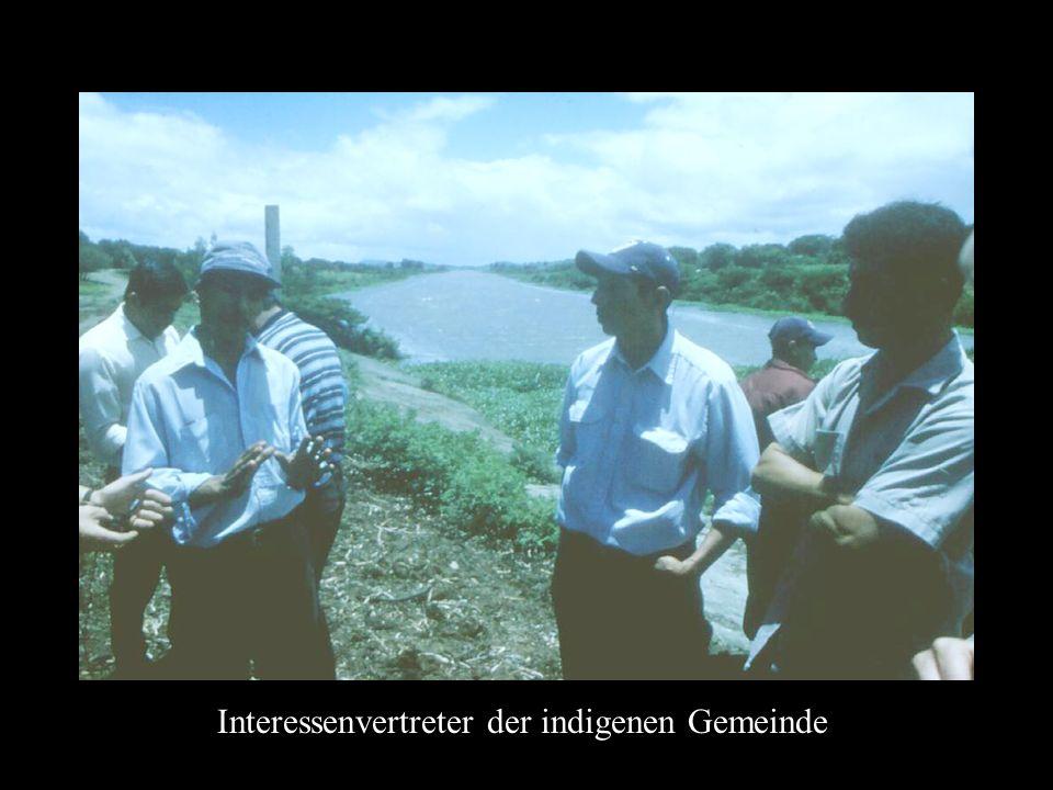 Interessenvertreter der indigenen Gemeinde