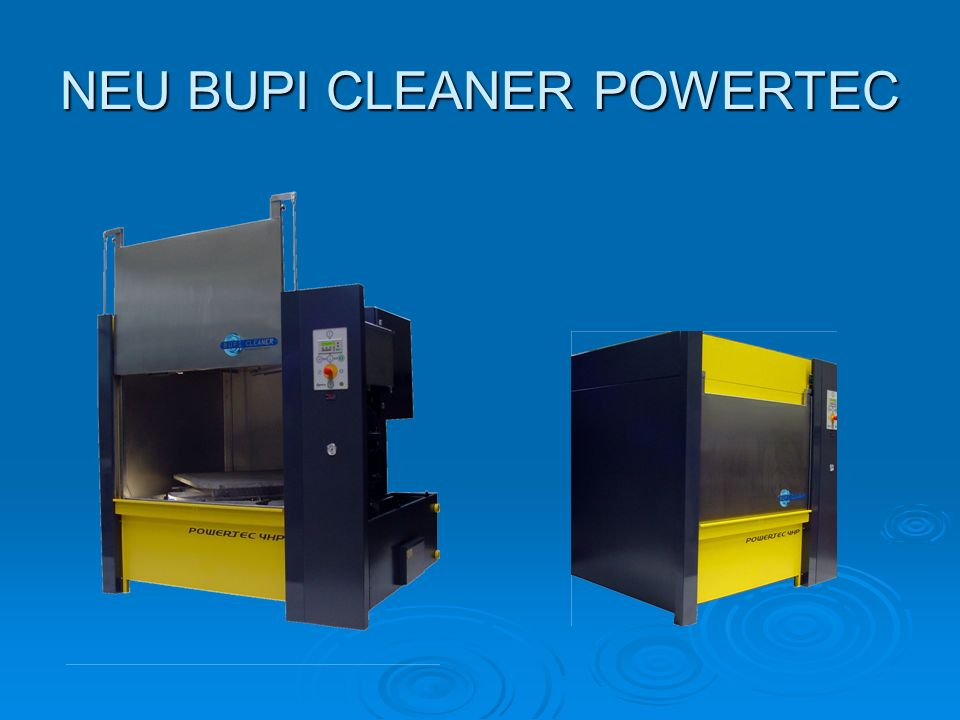 NEU BUPI CLEANER POWERTEC