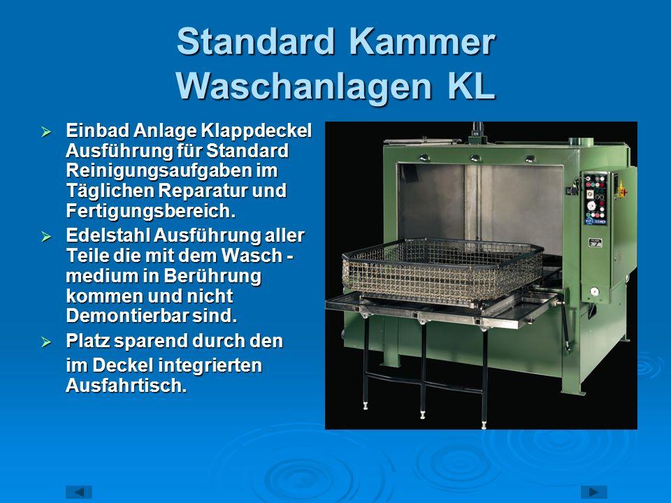 Standard Kammer Waschanlagen KL