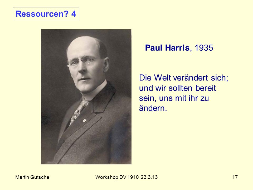 Ressourcen 4 Paul Harris, 1935