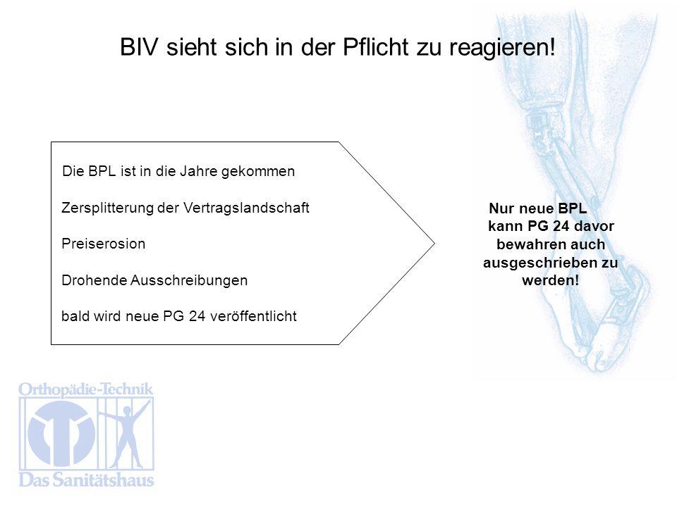 Nur neue BPL kann PG 24 davor bewahren auch ausgeschrieben zu werden!
