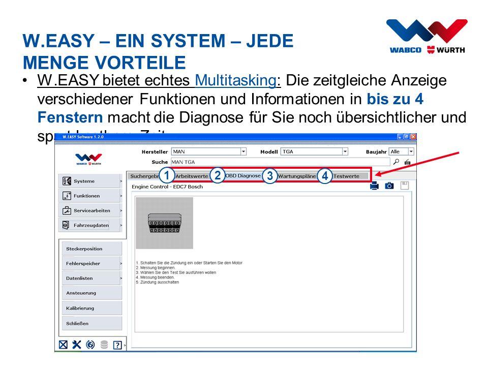 W.EASY – EIN SYSTEM – JEDE MENGE VORTEILE