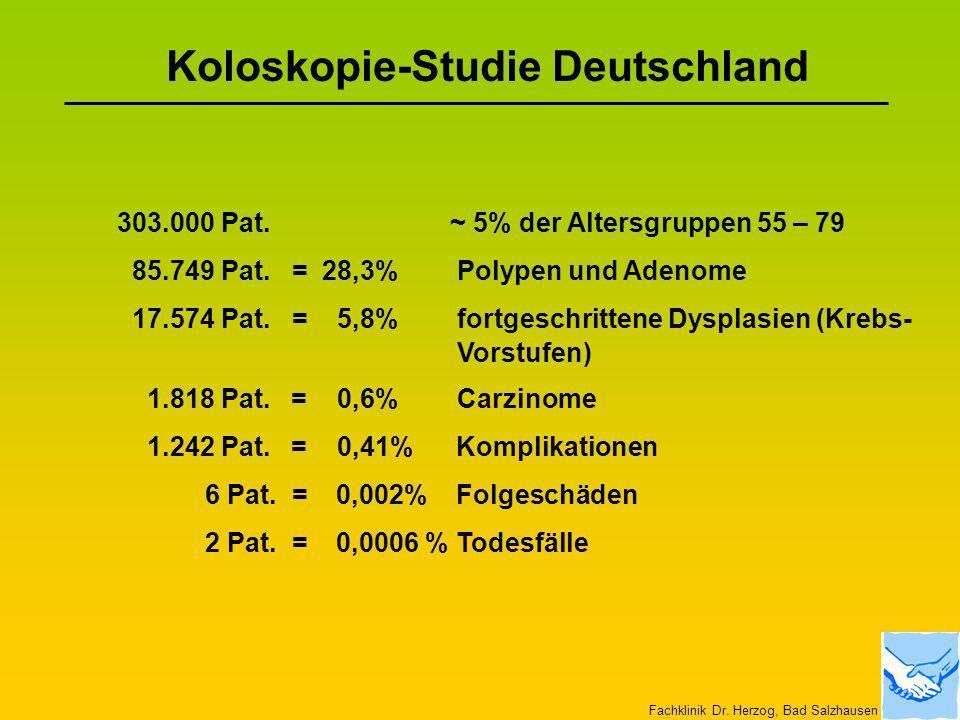 Koloskopie-Studie Deutschland