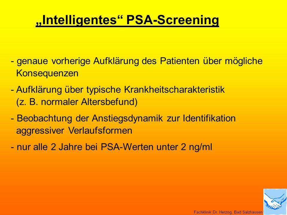 """Intelligentes PSA-Screening"