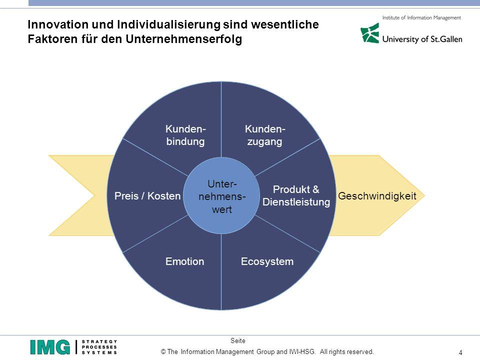 Innovation und Individualisierung sind wesentliche Faktoren für den Unternehmenserfolg