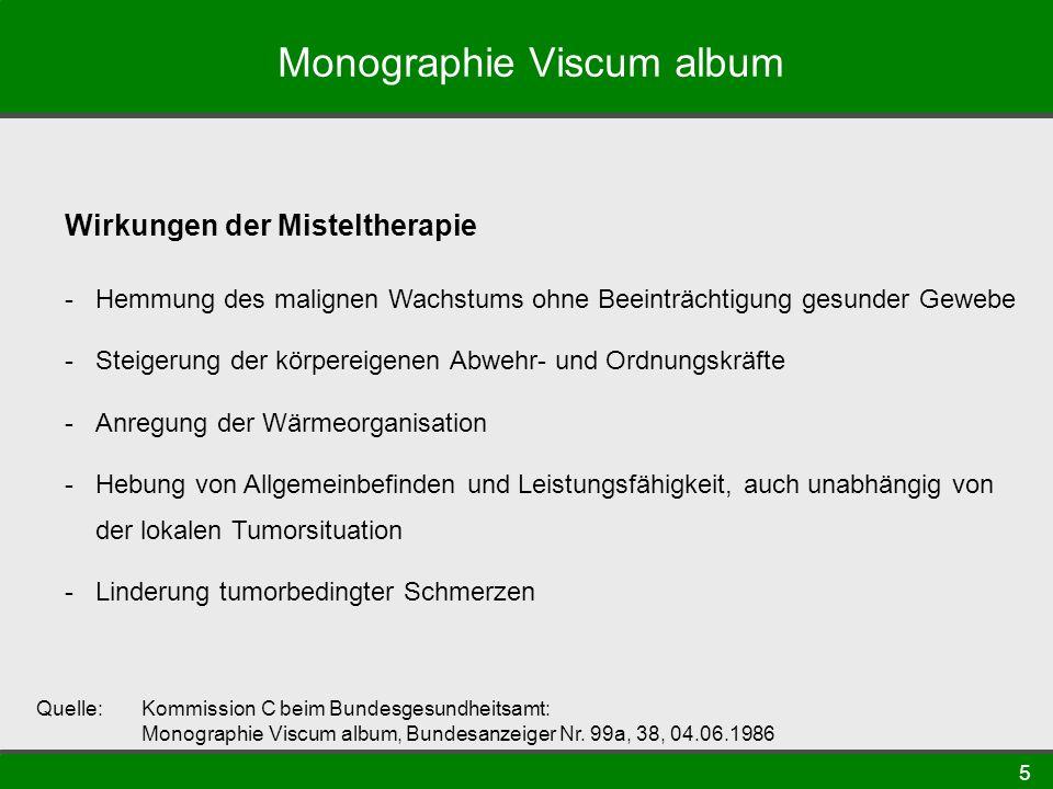 Monographie Viscum album