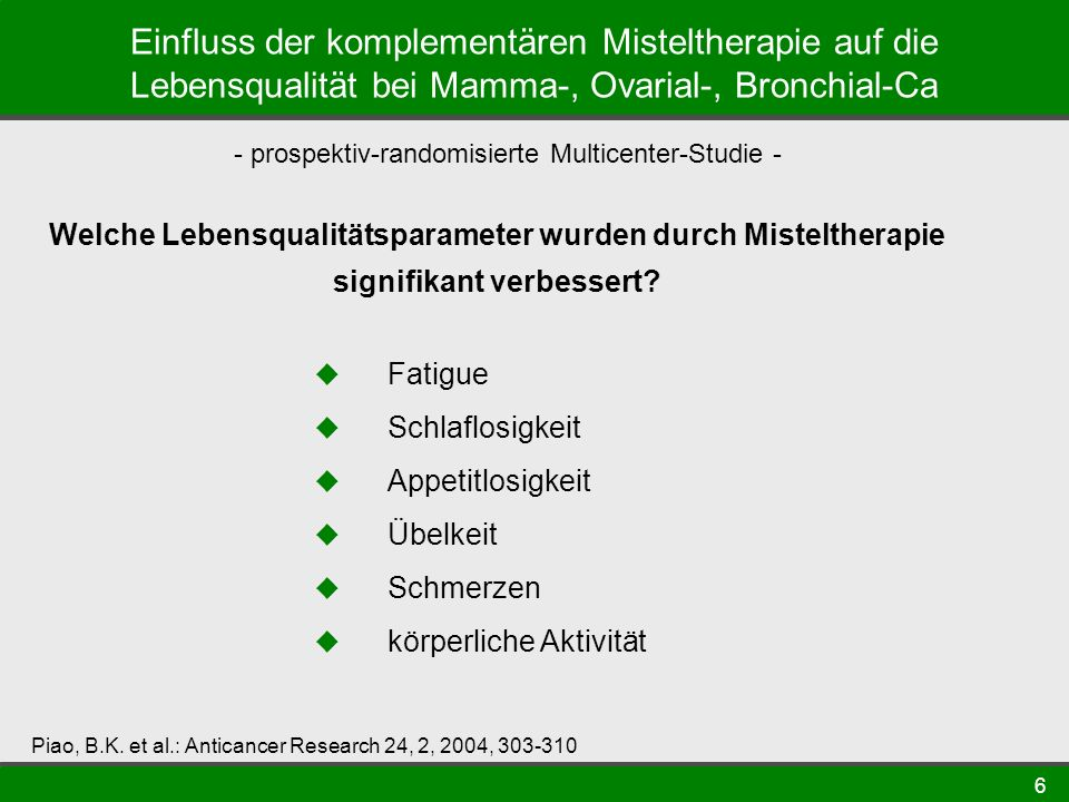 - prospektiv-randomisierte Multicenter-Studie -