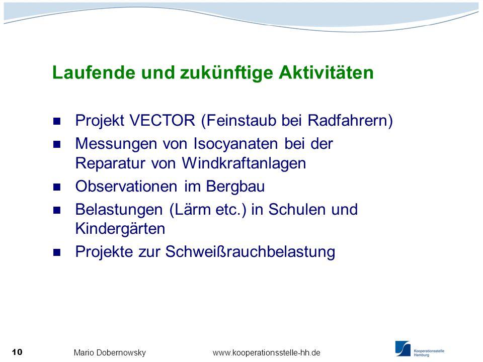 Mario Dobernowsky www.kooperationsstelle-hh.de