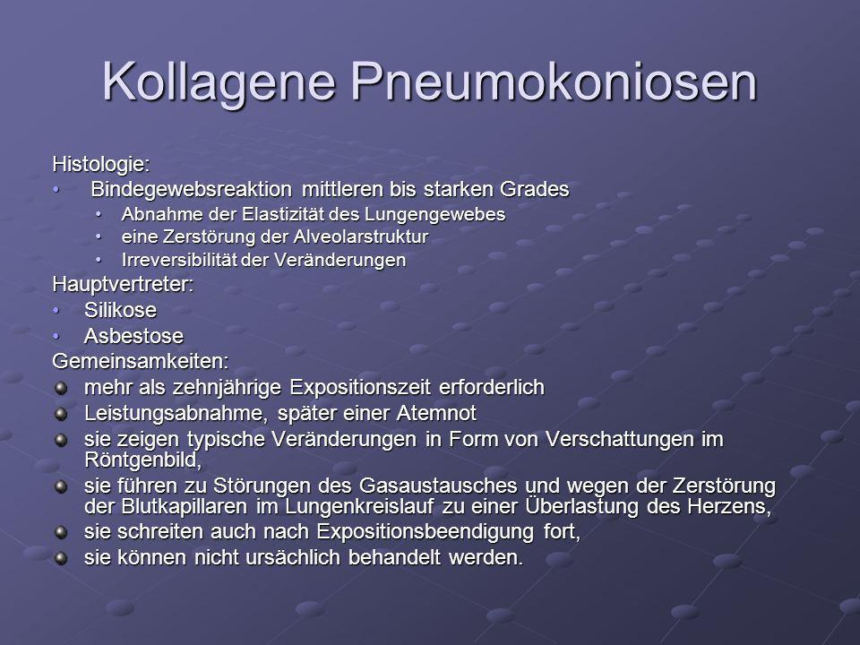 Kollagene Pneumokoniosen