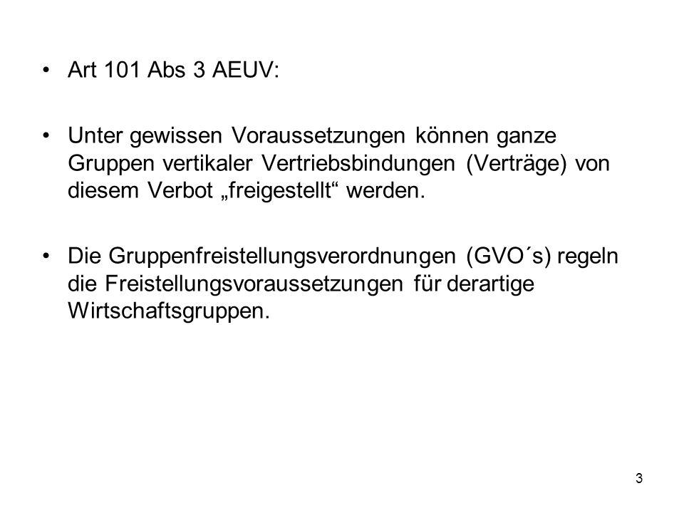 Art 101 Abs 3 AEUV: