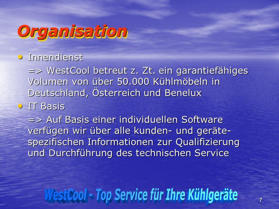 WestCool - Top Service für Ihre Kühlgeräte