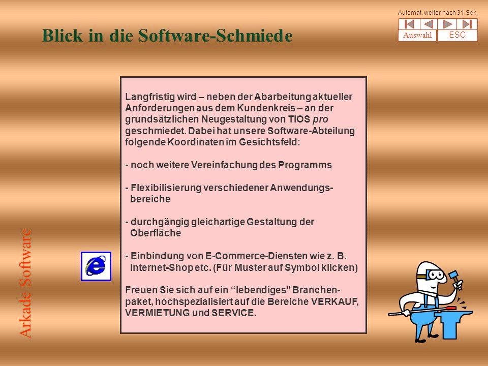 Blick in die Software-Schmiede