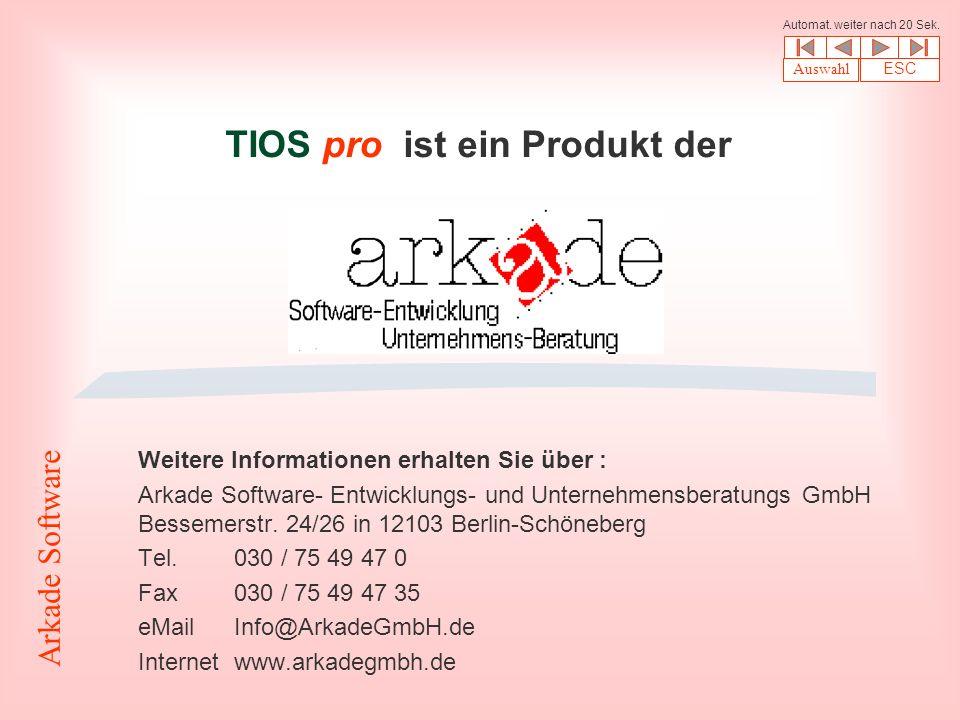 TIOS pro ist ein Produkt der